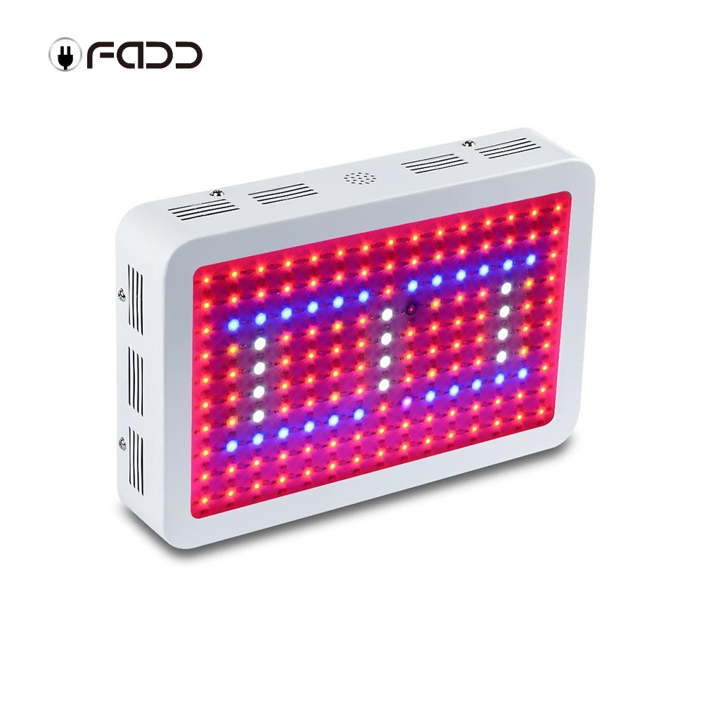 OFADD 450W (3W LED) Full Spectrum 360-870nm LED Grow Light Panel for indoor Flower Plants
