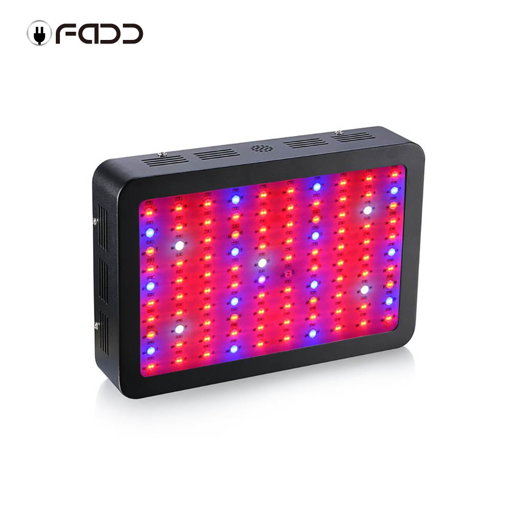 OFADD LED 1000W Black Double Chips LED Grow Light 410-730nm Full Spectrum LED Grow Lights For Indoor Plants Flowering And Growing
