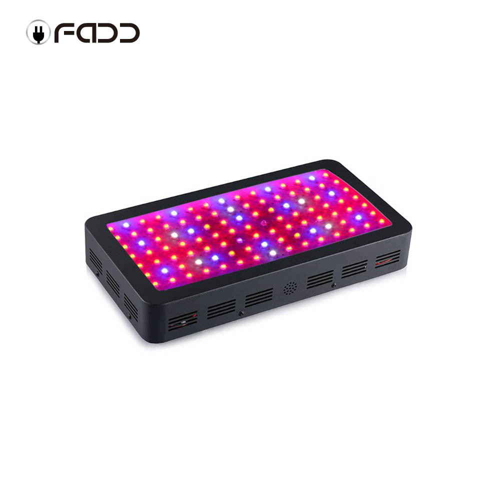 OFADD LED 1200W Black Double Chips LED Grow Light Full Spectrum 410-730nm For Indoor Plants and Flower Phrase Very High Yield