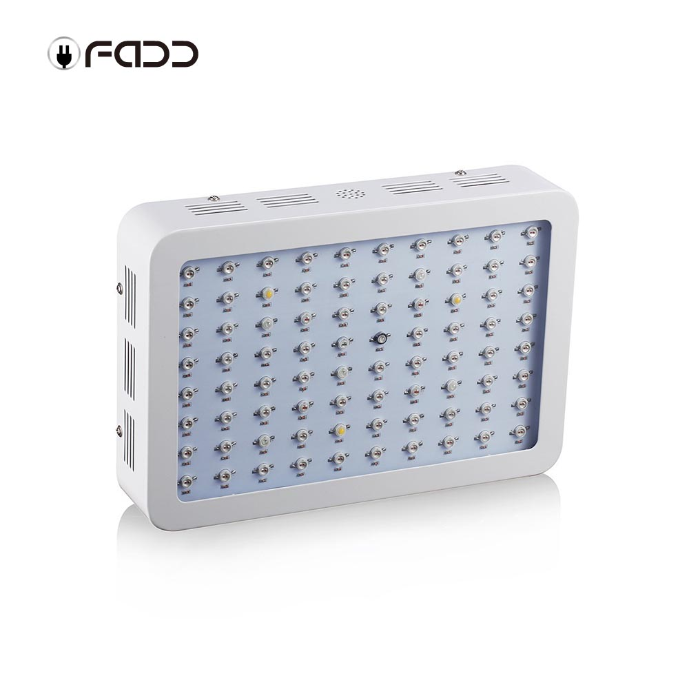 OFADD 800W (Double Chips 10W LEDs) LED Grow Light Full Spectrum IR, UV, RED, BLUE, ORANGE, WHITE For Indoor Plants Growing