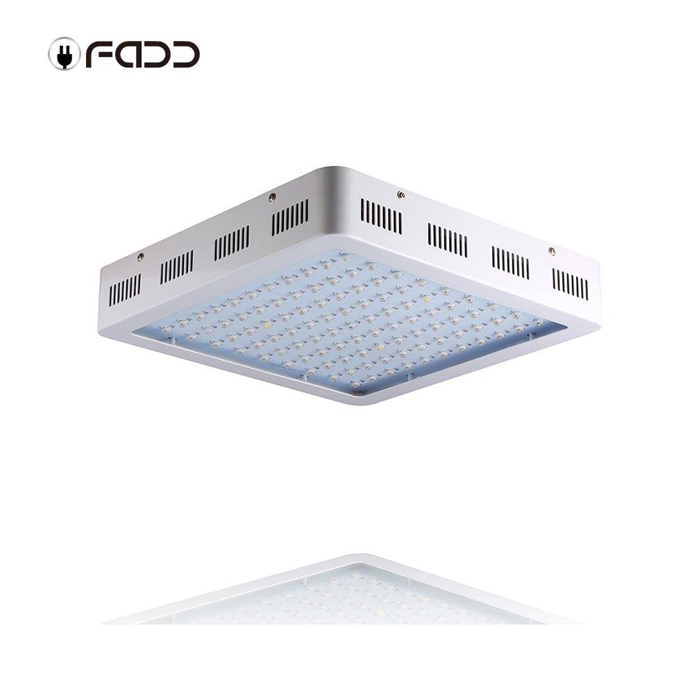 OFADD 1200W(Double Chips 10W LEDs) LED Grow Light Full Spectrum IR, UV, RED, BLUE, ORANGE, WHITE For Indoor Plants Growing
