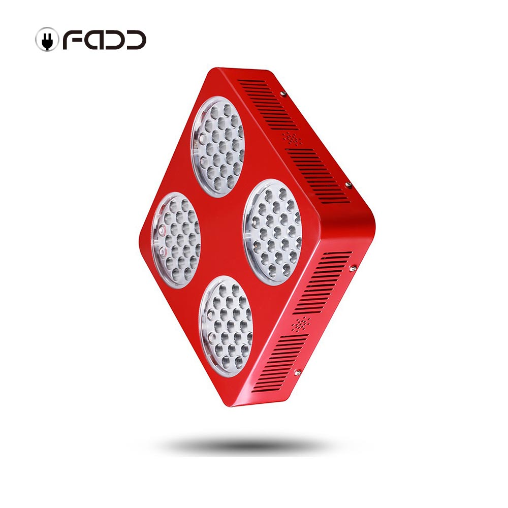 OFADD 840W (Double Chips 10W LED) LED Grow Light Sunlight Full Spectrum 380-730nm Armed With Integrated Power Lens, Designed For Indoor Flower Plants Vegetative and Flower Phrase ,Very High Yield