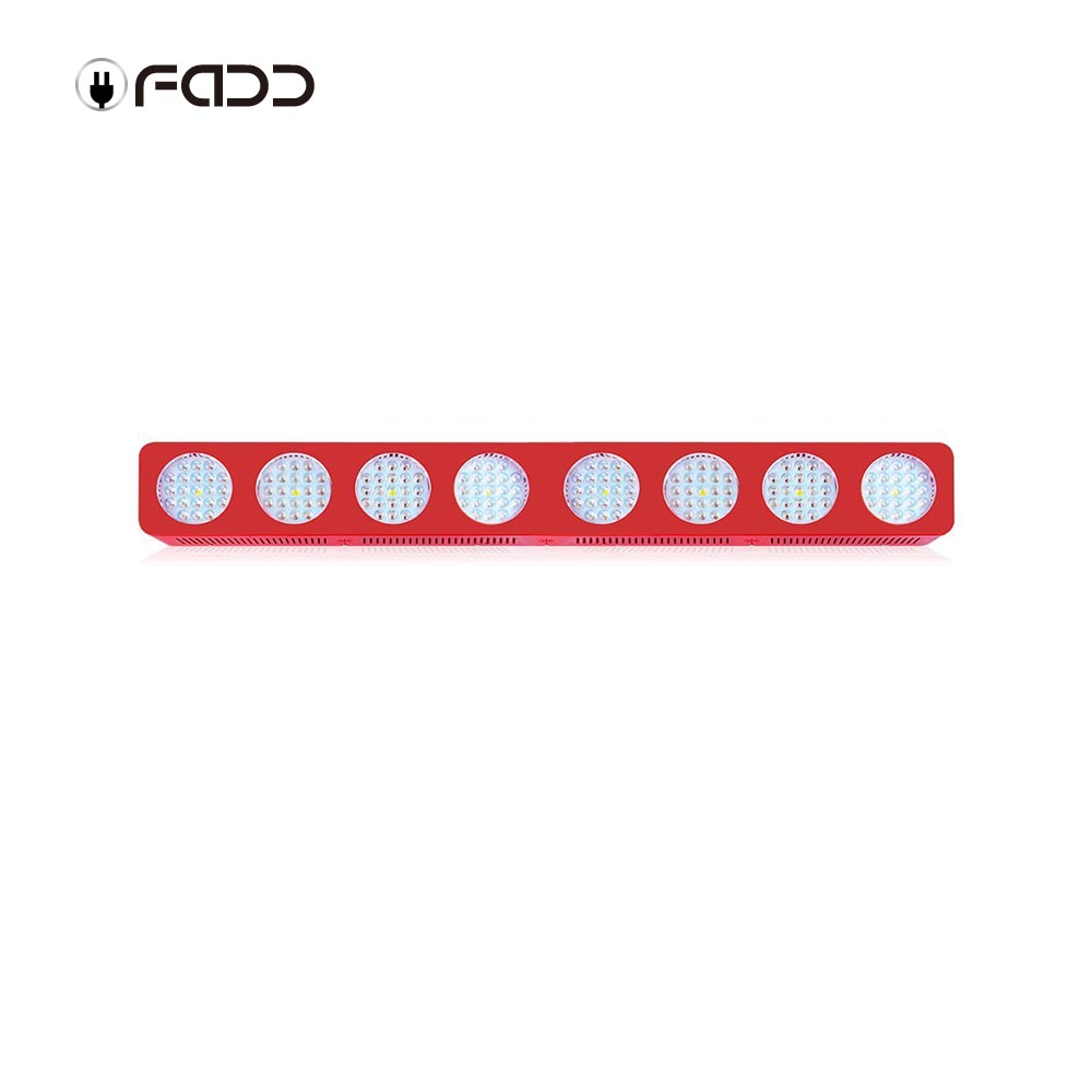 OFADD 1680W (Double Chips 10W LED) High Power LED Grow Light Sunlight Full Spectrum 380-730nm Armed With Integrated Power Lens, Designed For Flower Plants Vegetative and Flower Phrase ,Very High Yield