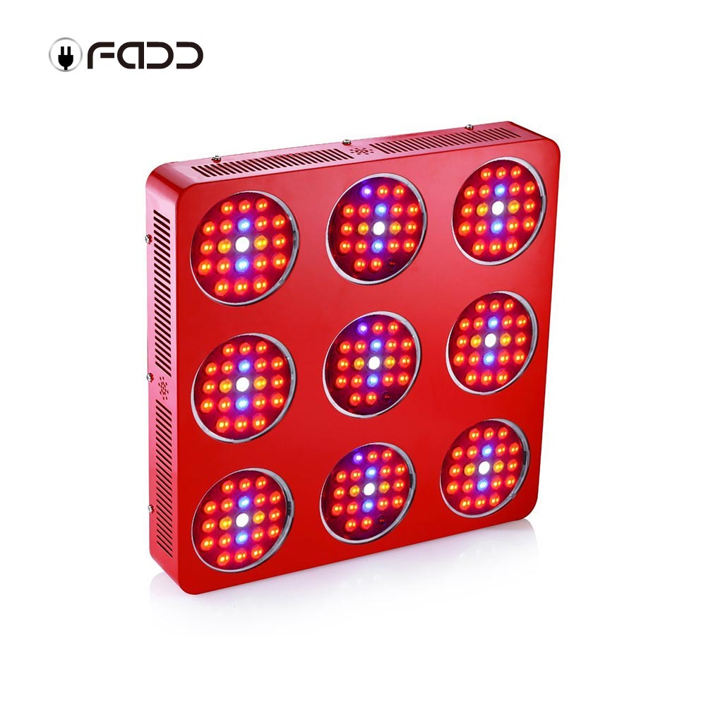 OFADD 1890W (Double Chips 10W LED) High Power LED Grow Light Sunlight Full Spectrum 380-730nm Armed With Integrated Power Lens, Designed For Flower Plants Vegetative and Flower Phrase ,Very High Yield