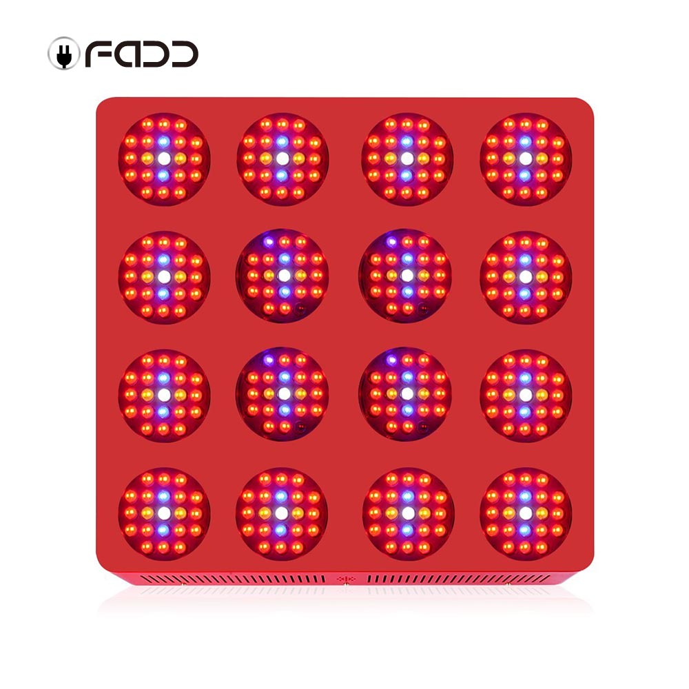 OFADD 3360W (Double Chips 10W LED) High Power LED Grow Light Sunlight Full Spectrum 380-730nm Armed With Integrated Power Lens, Designed For Flower Plants Vegetative and Flower Phrase ,Very High Yield
