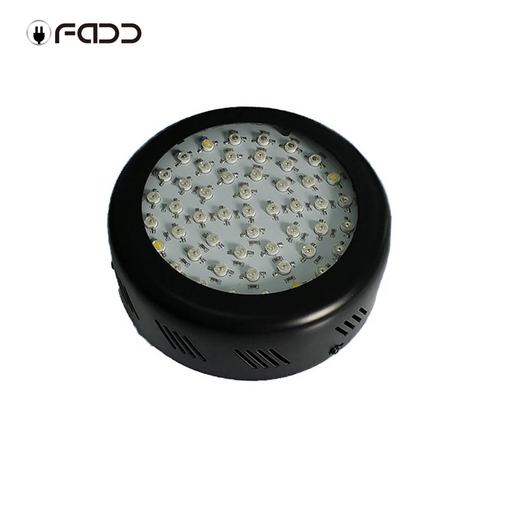 OFADD UFO 150W (3W LED) LED Grow Light With Optimized 360-870nm sunlight spectrum for Indoor Flower Plants grow and flower