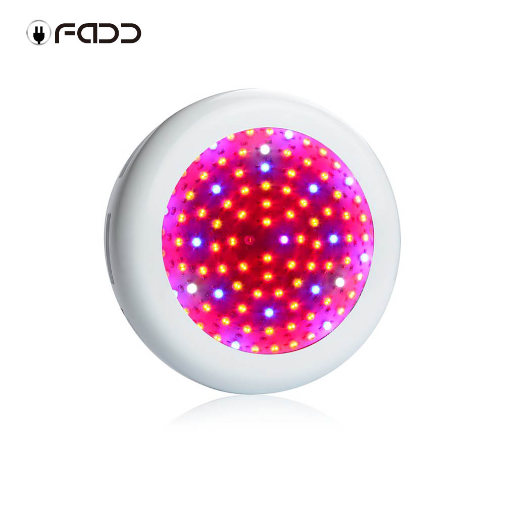 OFADD 1000W UFO Full Spectrum LED Grow Light Plants Growing and Flowering 10W double chips LED Grow light Panel