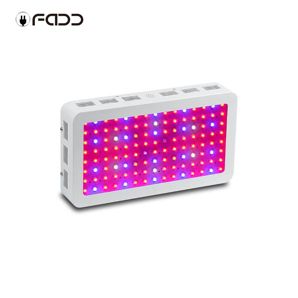 OFADD 1200W Double Chips LED Grow Light Full Spectrum 410-730nm For Indoor Plants and Flower Phrase Very High Yield
