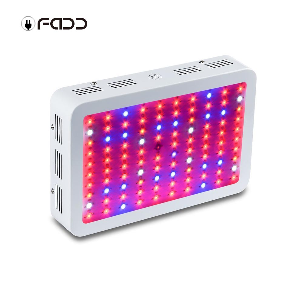 OFADD 300W (3W LED) Full Spectrum 360-870nm LED Grow Light Panel for Indoor Flower Plants