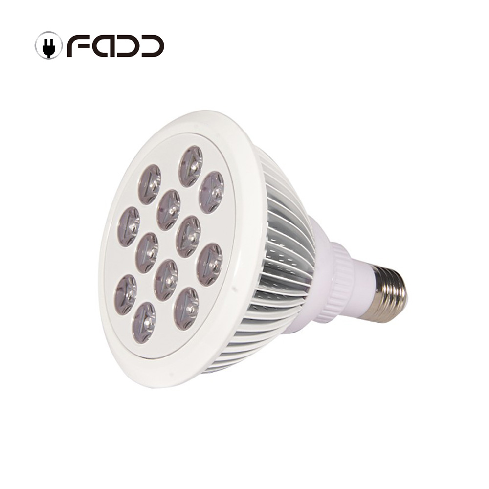 OFADD plant bulb 12w led grow light red blue 3 bands E27 Par38 led grow light high yield Strawberry cultivation LED Vegetable Light
