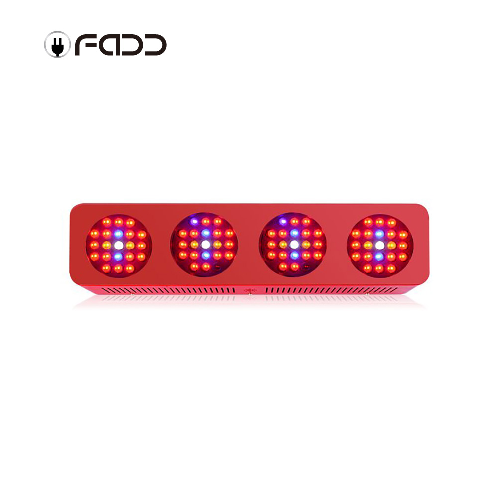 OFADD 840W Double Chips 10W LEDs Full Specturm LED Grow Light for Vegetable Indoor Plants Growing LED Light Plants