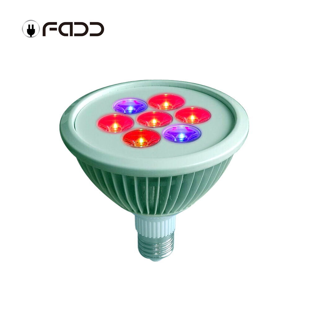 OFADD 7W E27 LED Grow Light Lamp Bulb for Flower Plant Hydroponics Indoor Vegetable Greenhouse 5Red 2Blue Grow Lights high yield