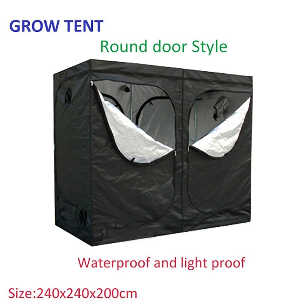 Agriculture Tiny Grow tent Garden Indoor Tent green grow tent with 240x240x200cm